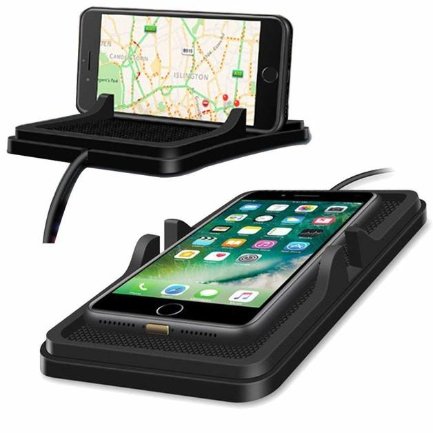 Qi Wireless Charger Pad Car Holder Dashboard Wireless Charger Phone Holder