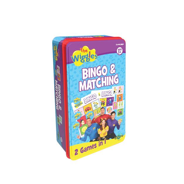 The Wiggles: Bingo & Matching Tin