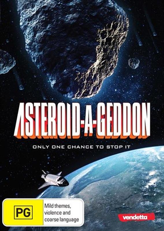 Asteroid-a-Geddon on DVD