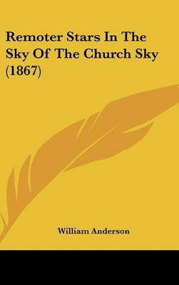 Remoter Stars In The Sky Of The Church Sky (1867) by William Anderson image