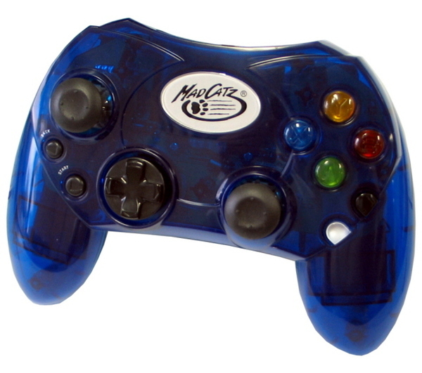 Mad Catz Controller - Blue for Xbox
