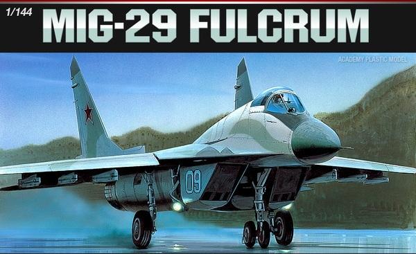 Academy MIG-29 Fulcrum 1/144 Model Kit
