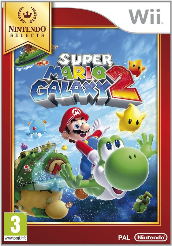 be16ddf9610e07 Super Mario Galaxy 2 (Selects) | Wii | Buy Now | at Mighty Ape Australia