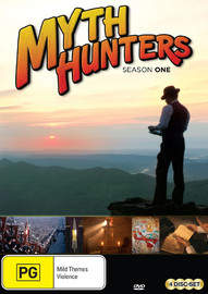Myth Hunters - Season 1 on DVD