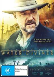 The Water Diviner on DVD