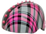 Krash Helmet Plaid Pyramid Studs (Pink)