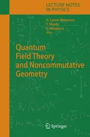 Quantum Field Theory and Noncommutative Geometry image