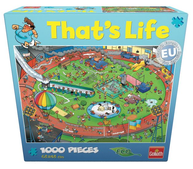 That's Life 1,000 Piece Jigsaw (Sport)