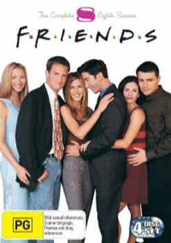 Friends - Season 8 on DVD image