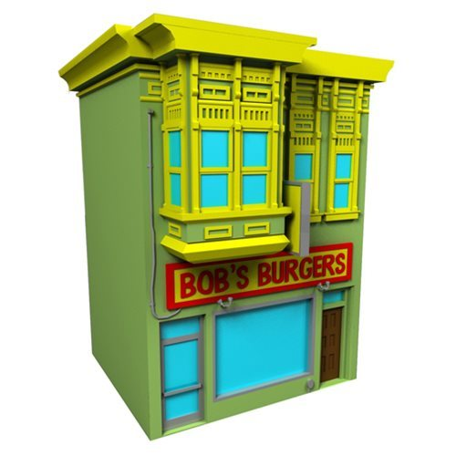 Bob's Burgers Building - Coin Bank image