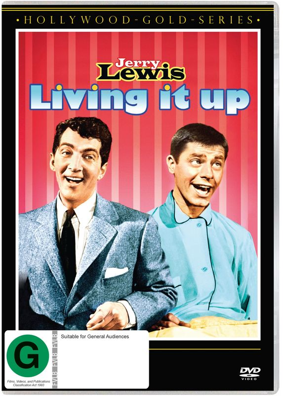 Living It Up on DVD