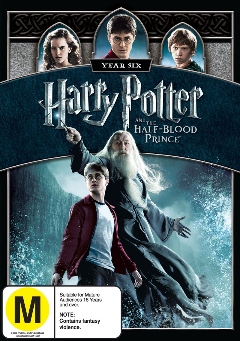 Harry Potter and The Half-Blood Prince on DVD image