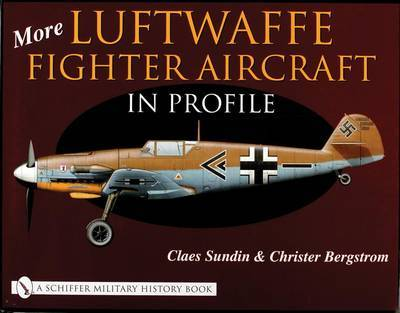 More Luftwaffe Fighter Aircraft in Profile by Claes Sundin