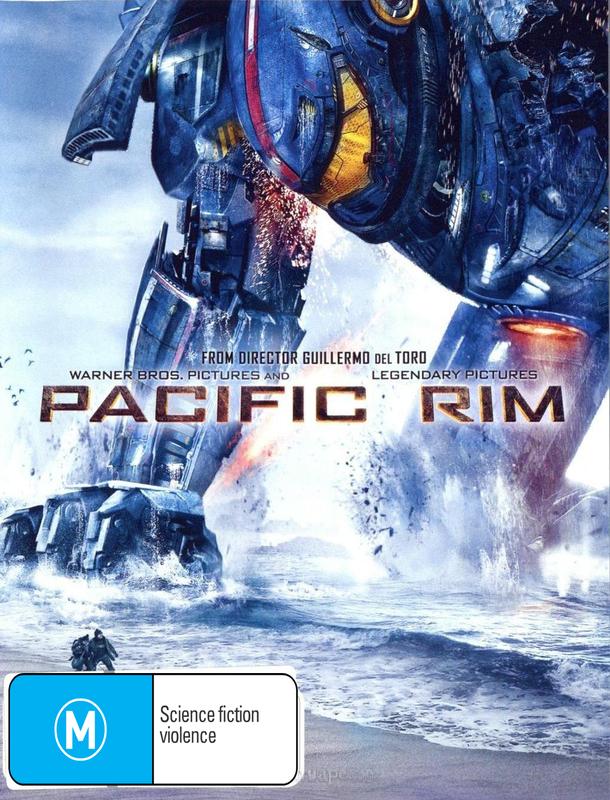 Pacific Rim on DVD