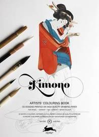 Pepin Press: Colouring Book - Kimono by Pepin Van Roojen