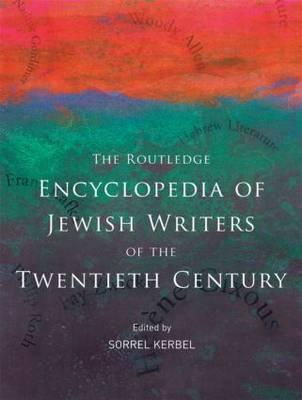 The Routledge Encyclopedia of Jewish Writers of the Twentieth Century image
