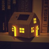 DIY Casagami Solar Light House