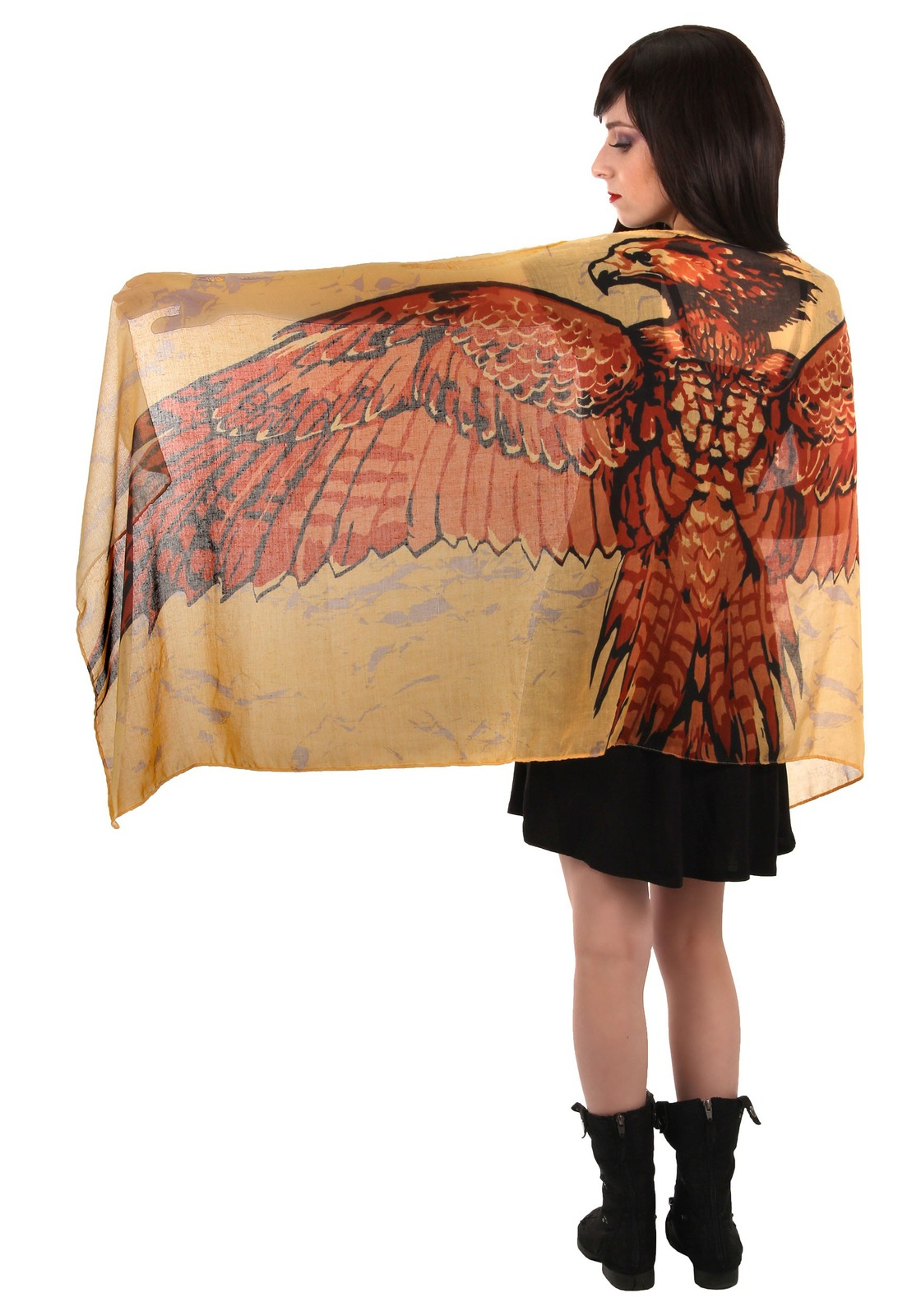 Harry Potter - Fawkes Wing Scarf image