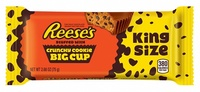 Reese's Crunchy Cookie Cup King Size Bar 76g 16pk
