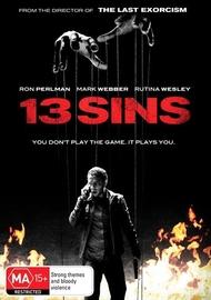 13 Sins on DVD