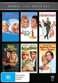 Movie Marathon - Volume 9: Goldie Hawn (6 Pack) on DVD
