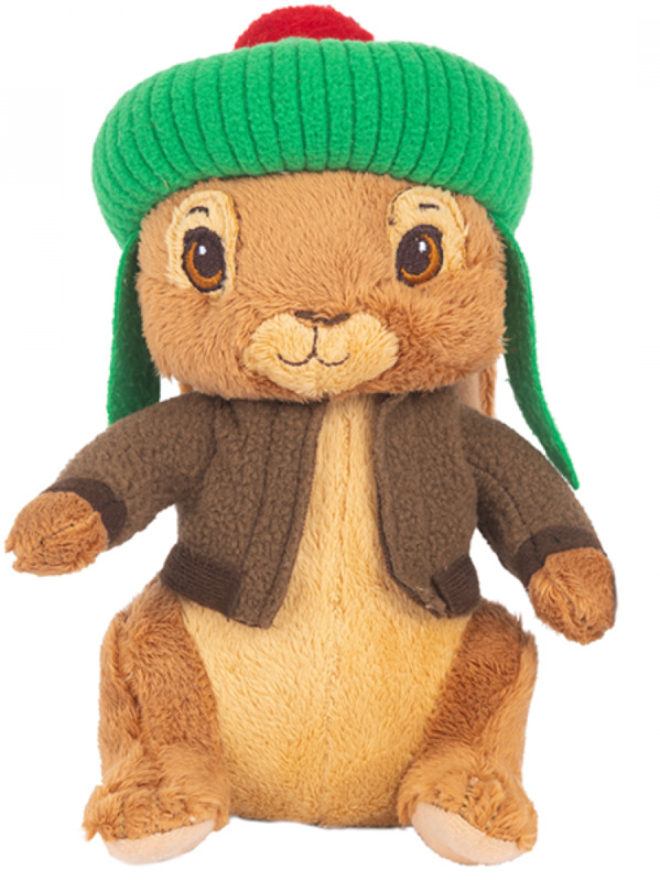 "Peter Rabbit: 6"" Character Plush - Benjamin Bunny"