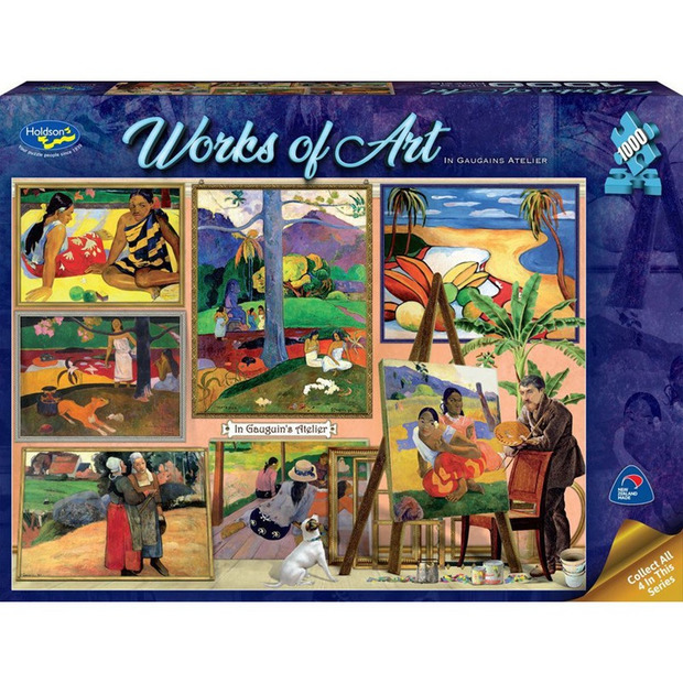 Holdson: 1000 Piece Puzzle - Works of Art (In Gauguin's Atelier)