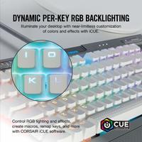 Corsair K70 RGB MK.2 SE Mechanical Gaming Keyboard (Cherry MX Speed) for PC