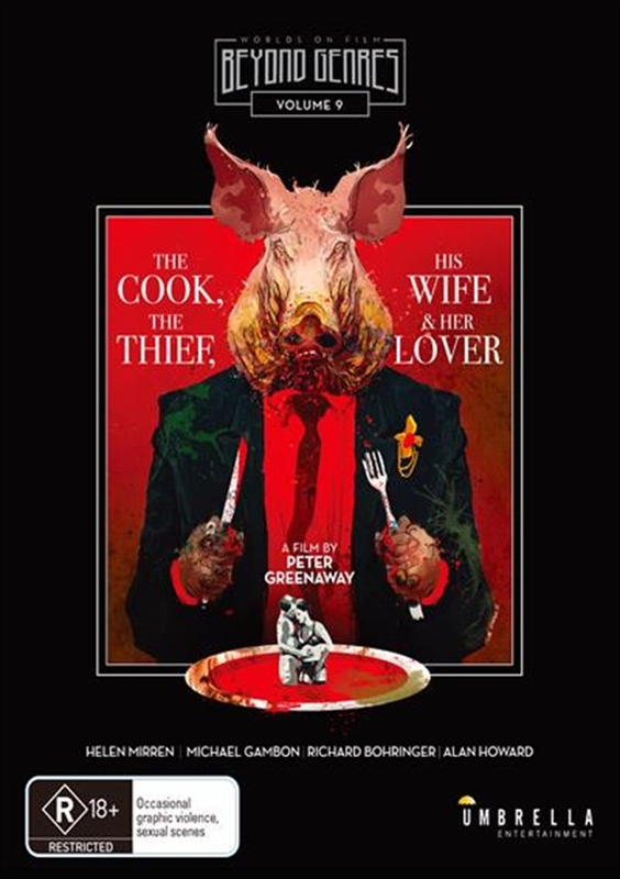 The Cook, The Thief, His Wife And Her Lover on Blu-ray