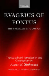 Evagrius of Pontus by Robert E Sinkewicz image