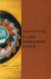 Implementing a Lean Management System by Thomas L. Jackson image