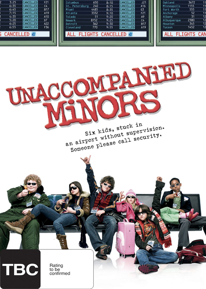 Unaccompanied Minors on DVD image