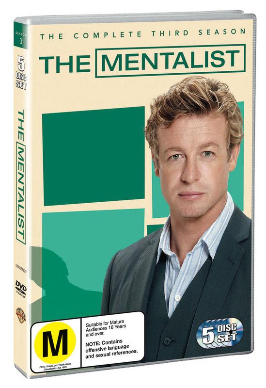 The Mentalist - Season 3 on DVD