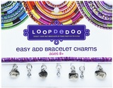 Loopdedoo Easy Add Bracelet Charms - Laugh Sing Live Play