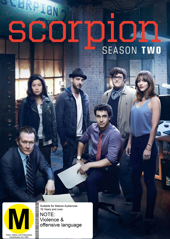 Scorpion: Season Two on DVD image