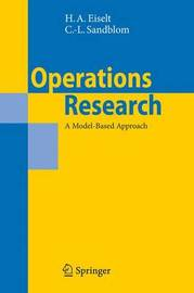 Operations Research by H.A. Eiselt image