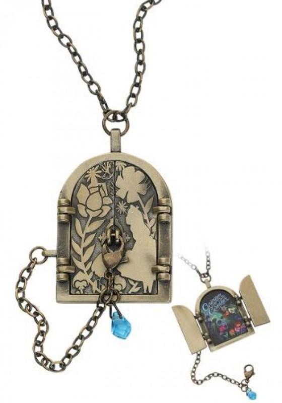 Neon Tuesday: Alice In Wonderland - Curiouser Door Necklace