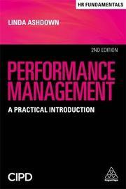 Performance Management by Linda Ashdown