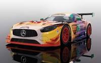 Scalextric: Mercedes AMG GT3 - Daytona 24 Hours 2017