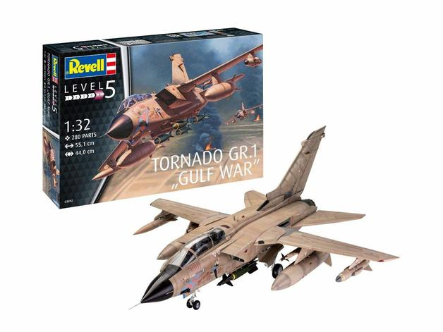 "Revell: Tornado GR.1 RAD ""Gulf War"" - 1:32 Scale Model Kit"