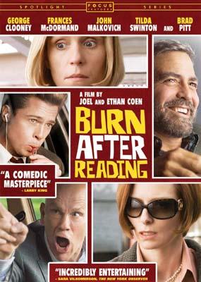 Burn After Reading on DVD image