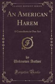 An American Harem by Unknown Author image