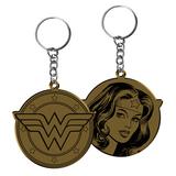 Wonder Woman Gold Keyring