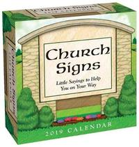 Church Signs 2019 Day-To-Day Calendar by Andrews McMeel Publishing