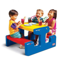 Little Tikes: Large Picnic Table - Primary (Blue)