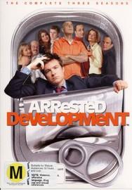 Arrested Development - The Complete Three Seasons (8 Disc Box Set) on DVD
