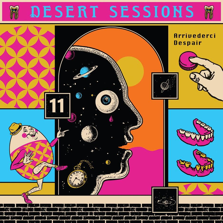Desert Sessions: Vol. 11 & 12 by Desert Sessions image