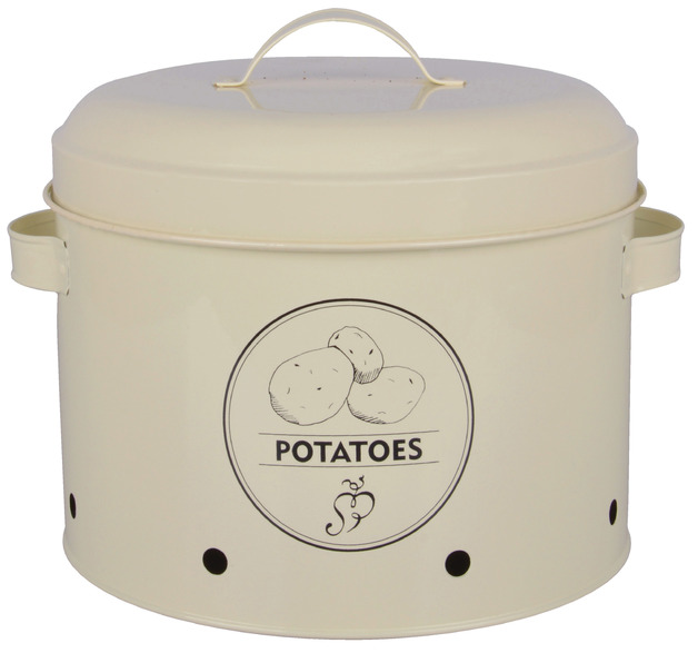 Potato Storage Tin (27x23.2x21.3cm)