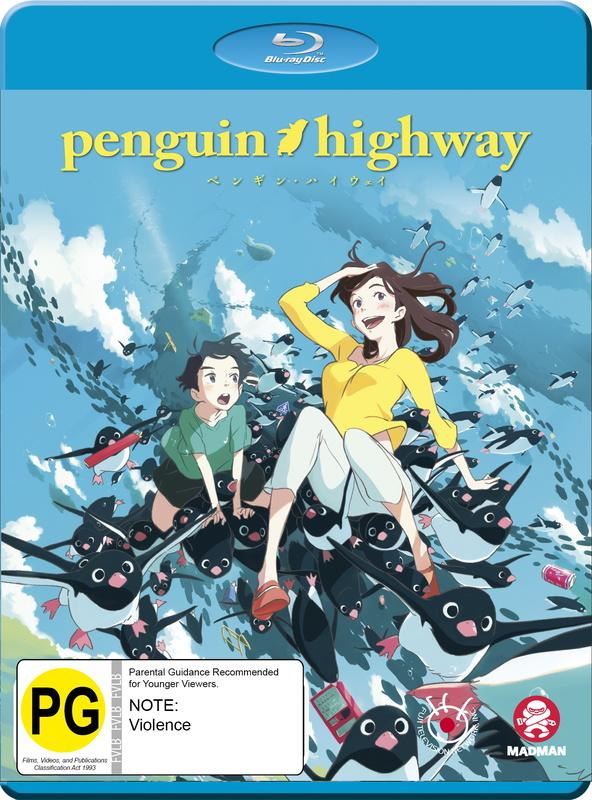 Penguin Highway on Blu-ray