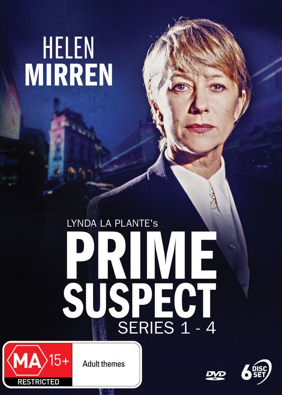 Prime Suspect - Series 1-4 on DVD